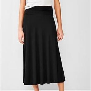 Gap Black Maxi Skirt